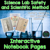 Lab Safety and Scientific Method Interactive Notebook Pages - Distance Learning