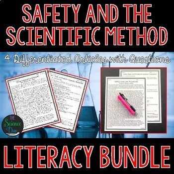 Science Lab Safety and Scientific Method - Science Literacy Bundle