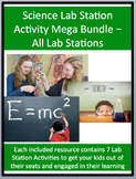 Science Lab Station Activity Mega Bundle - Includes 82+ Lab Stations
