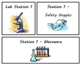 Science Lab Station Signs