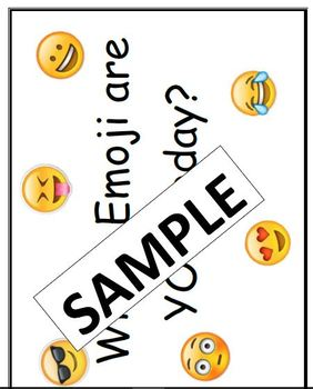 Science Lab Team/Group Emoji Role Cards and Bullentin Board Title
