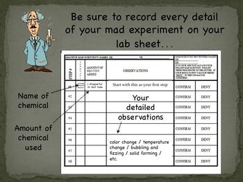 Science Lab: The Mad Scientist Lab