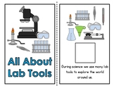 Science Lab Tools Bundle (Adapted Book, File Folder, and F