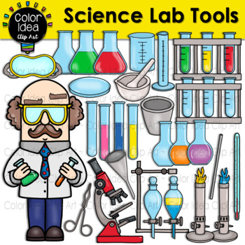 Science Lab Tools Clip Art