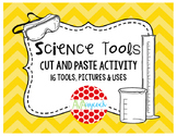 Science Lab Tools Cut and Paste Activity
