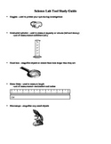 Science Lab Tools Study Guide