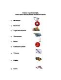 Science Lab Tools Worksheet
