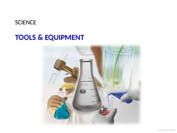 science lab tools and equipment