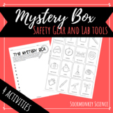 Science Lab Tools and Safety Gear Activities: Mystery Box and Memory Game