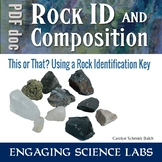 Science Lab: Use a Dichotomous Key to identify Rocks and Minerals