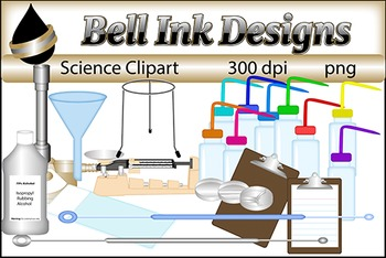 Science Lab and Kids Clipart