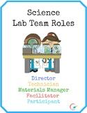 Science Lab Team Roles