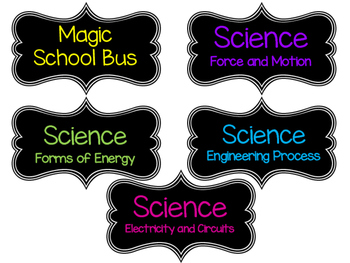 Science Labels