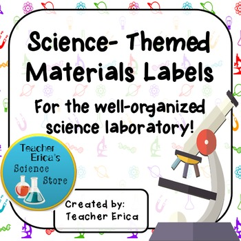 Science-Themed Materials Labels