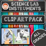 Science Laboratory Instruments Clip Art Pack