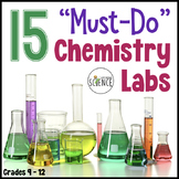 Science Labs: Must Do Chemistry or Physical Science Labs - Bundled Set