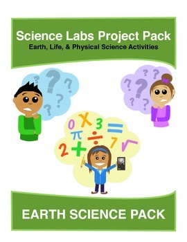 Science Labs projects pack - Earth Science Projects - 16 labs