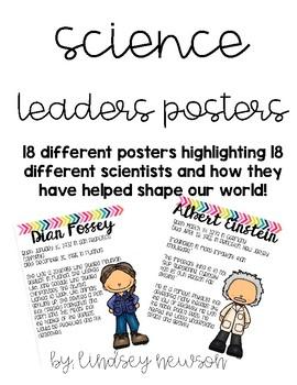 Science Leaders Posters