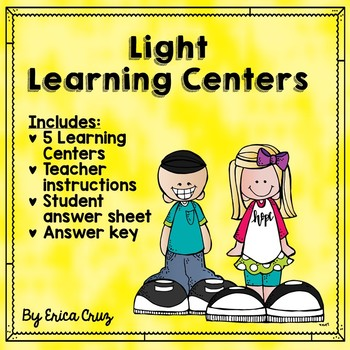 Science Learning Centers Light Energy