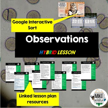 Science Lesson 2: Observations for Middle School