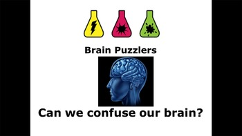 Science Lesson Plan (4-11yrs) + PowerPoint - Can Your Brain Get It Wrong?