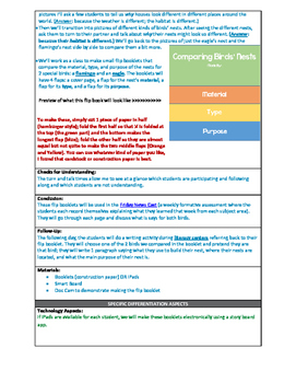 Science Lesson Plan - What is a Bird's Nest?