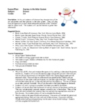 Science Lesson Plans - Journey to the Solar System