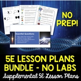 Science Lesson Plans Supplemental Bundle - NO LABS