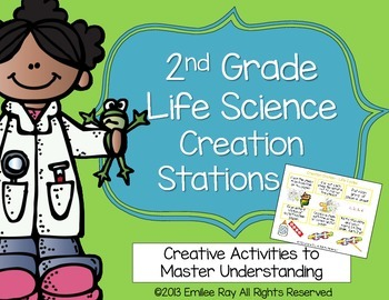 Animals, Habitats, Living Things - Creation Stations Projects