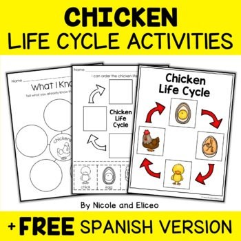 Vocabulary Activities - Science Life Cycles