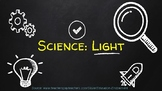 Science: Light PowerPoint (PDF)