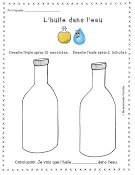 Science - Liquids & Solids Experiments (French)