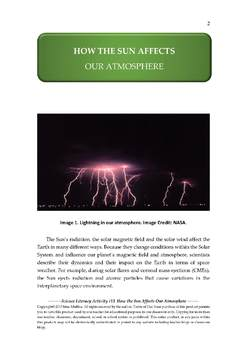 Science Literacy Activity #13 How the Sun Affects Our Atmosphere