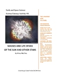 Science Literacy Activity #15 Masses and Life Spans of the Sun and Other Stars