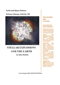 Science Literacy Activity #19 Stellar Explosions and the Earth