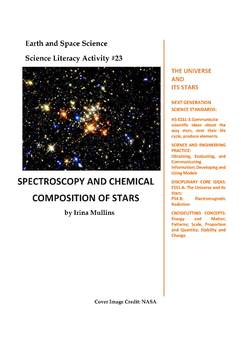Science Literacy Activity #23 Spectroscopy and Chemical Composition of Stars