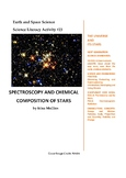 Science Literacy Activity #23 Spectroscopy and Chemical Co