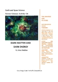 Science Literacy Activity #26 Dark Matter and Dark Energy
