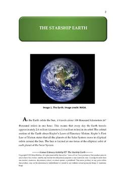 Science Literacy Activity #27 The Starship Earth