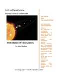 Science Literacy Activity #29 The Heliocentric Model