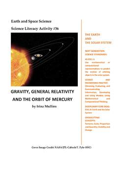 Science Literacy Activity #36 Gravity, General Relativity & the Orbit of Mercury
