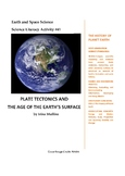 Science Literacy Activity #41 Plate Tectonics and the Age