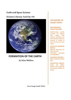 Science Literacy Activity #43 Formation of the Earth