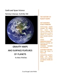 Science Literacy Activity #44 Gravity Maps and Surface Features of Planets