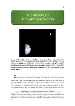 Science Literacy Activity #46 The History of the Earth's Rotation
