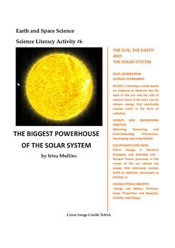 Science Literacy Activity #6 The Biggest Powerhouse of the Solar System