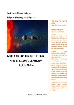 Science Literacy Activity #7 Nuclear Fusion in the Sun and the Sun's Stability