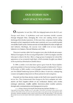 Science Literacy Activity #9 Our Stormy Sun and Space Weather