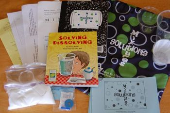 Science Literacy Bag Downloads - Sun, Fossils, Mixtures & Solutions