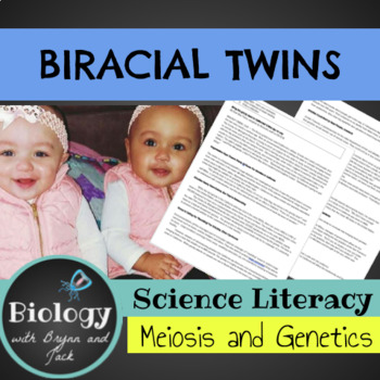 Science Literacy: Biracial Twins